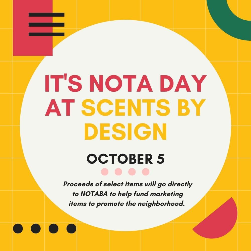 nota day at scents by design 2021